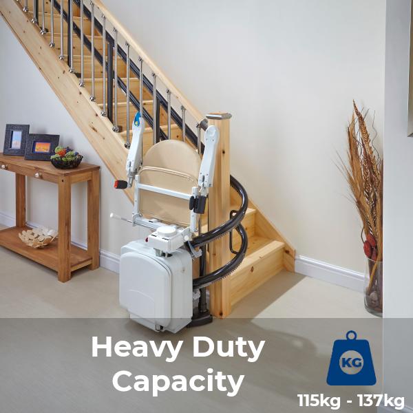 Handicare 2000 stairlift heavy duty capacity