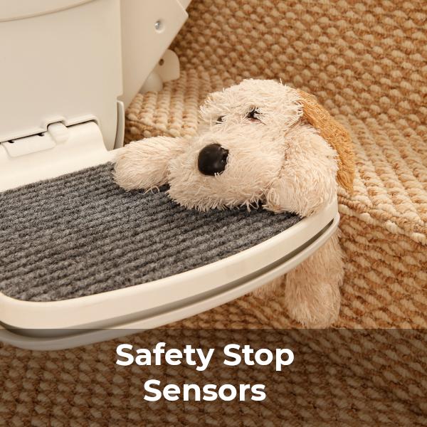 Handicare 2000 stairlift stop sensors