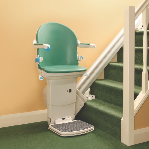 handicare 1000 straight stairlift in jade