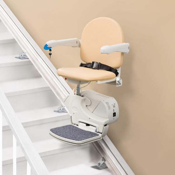 handicare 950 plus straight stairlift - sand