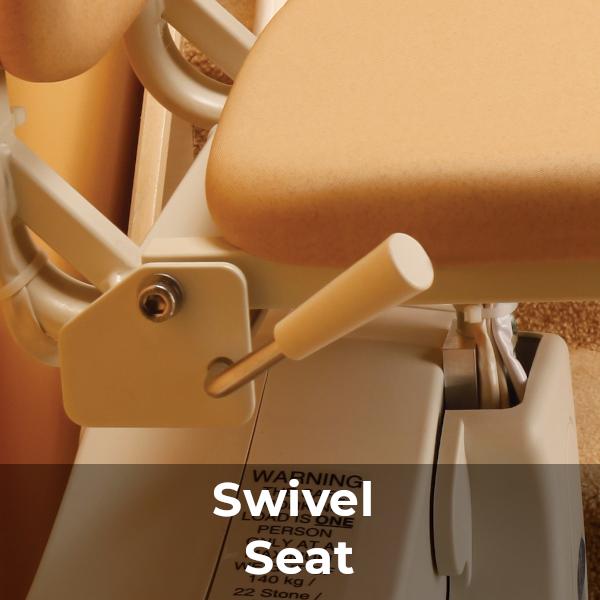 handicare 950 stairlift Swivel Seat