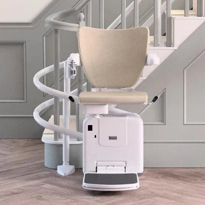 Handicare 2000 - Curved Stairlift Image