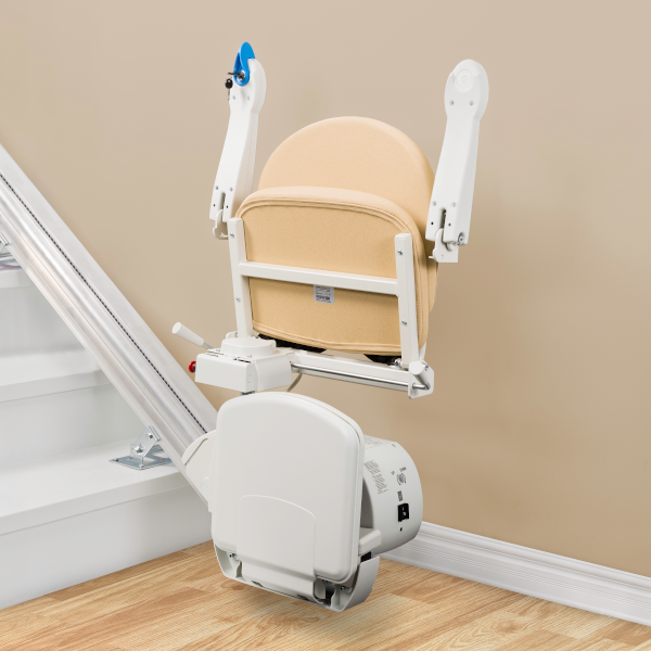 simplicity handicare 950 folded seat straight stairlift 950